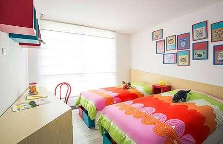 Habitación infantil: Habitaciones infantiles de estilo  por Maria Mentira Studio