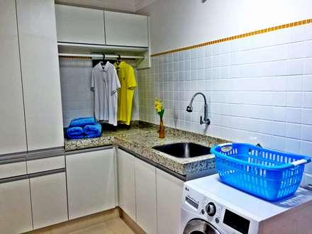 ausgefallene Schlafzimmer von Caio Pelisson - Arquitetura e Design