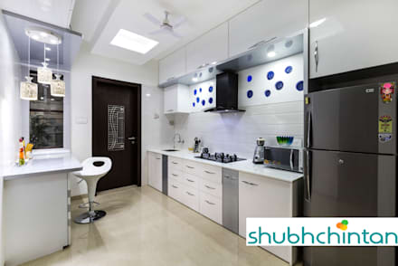 KITCHEN PLATFORM : modern Kitchen by shubhchintan