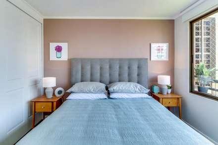 Dormitorios pintados y amoblados: Dormitorios de estilo moderno por Studio Barla