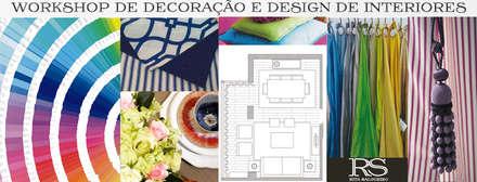 Workshop Design e Decoração de Interiores: Escolas  por  Rita Salgueiro - Full Ideas