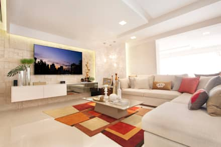 moderne wohnzimmer von ana lucia salama arquitetura e interiores - Moderne Wohnzimmer Ideen