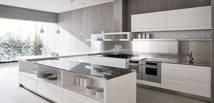 ESRA ÖZDEMİR İÇ MİMARLIK – MUTFAK TASARIMLARI: minimal tarz tarz Mutfak