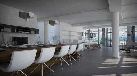 Comedor: Comedores de estilo moderno por Vivian Dembo Arquitectura