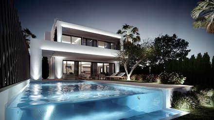 Fotos de decoraci n y dise o de interiores homify - Villa de luxe minorque esteve estudio ...