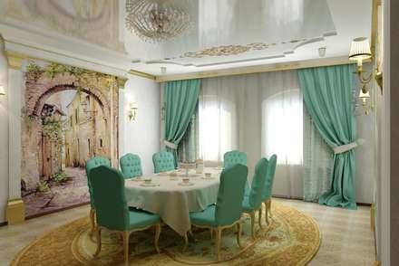 Дизайн столовой: Столовые комнаты в . Автор – Дизайн студия 'Exmod' Павел Цунев