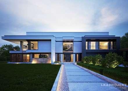 Du denkst, du hast schon alles gesehen? Dieses Haus wird dich überraschen! Unser Entwurf LK&1275: moderne Häuser von LK&Projekt GmbH