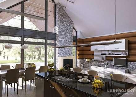 Dieses Haus ist einfach mal anders. Unser Projekt LK&684: moderne Esszimmer von LK&Projekt GmbH