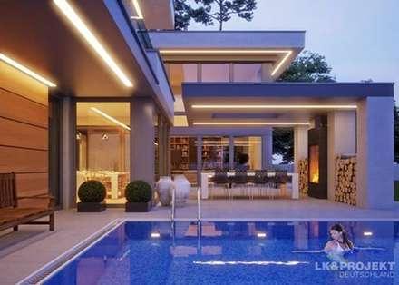 einfach fabelhaft unser entwurf lk1344 moderner pool von lkprojekt gmbh - Pool Design Ideen Bilder