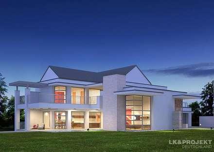 Für den perfekten Start ins Wochenende... Unser Projekt LK&845:: moderne Häuser von LK&Projekt GmbH