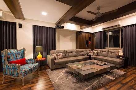 Proposed Interior of Bunglaow: asian Media room by KANAKIA INTERIOR AND CONSULTANCY