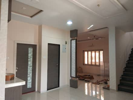 Proposed Interior Of Bungalow.: modern Living room by KANAKIA INTERIOR AND CONSULTANCY