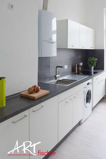Küchenzeile Im Überblick: Moderne Küche Von ARTfischer Die Möbelmanufaktur.