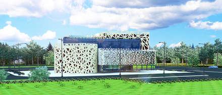 Музей современного искусства: Офисы и магазины в . Автор – Садовникова Наталья Евгеньевна