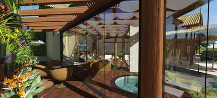rustic Spa by arquiteto bignotto