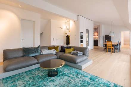 Penthouse Bogenhausen: Moderne Wohnzimmer Von BESPOKE GmbH // Interior  Design U0026 Production