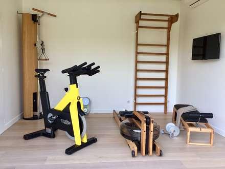 Salle de sport moderne id es inspiration homify for Exterieur gym