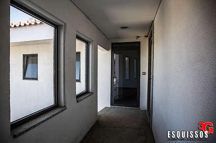 Corredores Halls E Escadas Homify