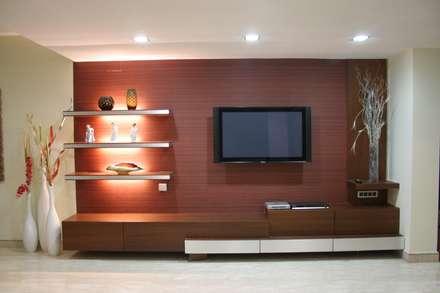 moderner Multimedia-Raum von Bss Design and Interiors Pvt.Ltd