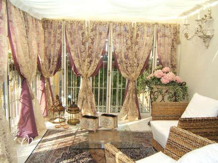 FASCINO SENZA TEMPO: Giardino d'inverno in stile in stile Classico di Emanuela Volpicelli Interior Designer