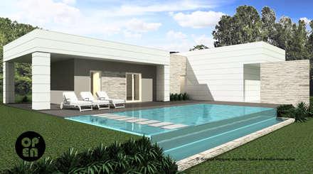 Kolam Renang by ATELIER OPEN ® - Arquitetura e Engenharia
