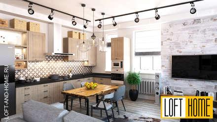 ТАУНХАУС, КЕМБРИДЖ: Кухни в . Автор – Loft&Home