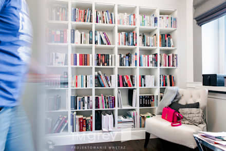 Oficinas de estilo  por TiM Grey Interior Design