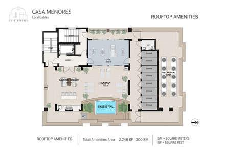 CASA MENORES: Casas de estilo colonial por OFICINA DE TECNOLOGIA Y PROYECTOS ESPECIALES