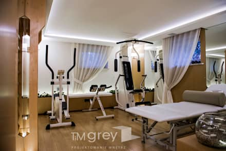 classic Gym by TiM Grey Interior Design