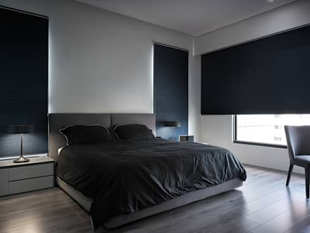 : minimalistic Bedroom by Taipei Base Design Center
