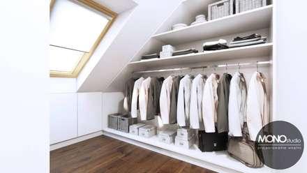 modern Dressing room by MONOstudio