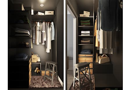 scandinavian Dressing room by OBJECT