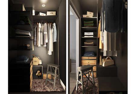 Closets de estilo escandinavo por OBJECT
