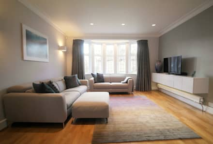 Cissbury Ring   North Finchley: Modern Living Room By Patience Designs