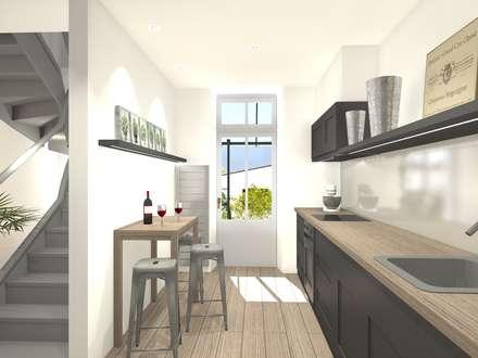 Cuisine: Cuisine de style de style Moderne par Architecture d'intérieur CA