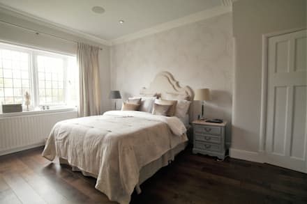 Alexandra Palace: classic Bedroom by Patience Designs