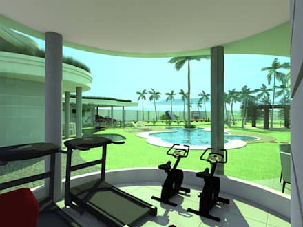 Fitnessraum wandgestaltung  Fitnessraum Einrichtung, Ideen, Inspiration und Bilder | homify