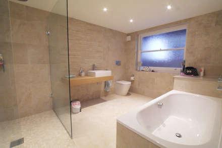 Cloudesley Road, Islington: modern Bathroom by Patience Designs