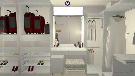 Phòng thay đồ by Kestie Arquitetura