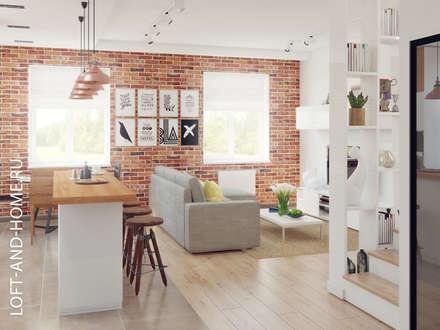 ТАУНХАУС, БРИСТОЛЬ 148М2: Столовые комнаты в . Автор – Loft&Home