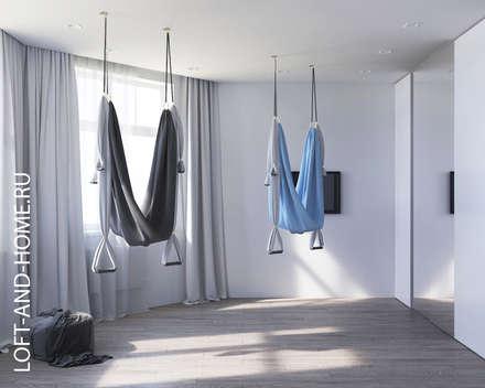 Gimnasios domésticos de estilo  por Loft&Home