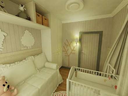 ...: Quarto infantil  por MQ Design Interiores