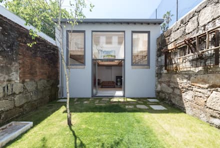 LSC: Jardins minimalistas por a*l - alexandre loureiro arquitectos