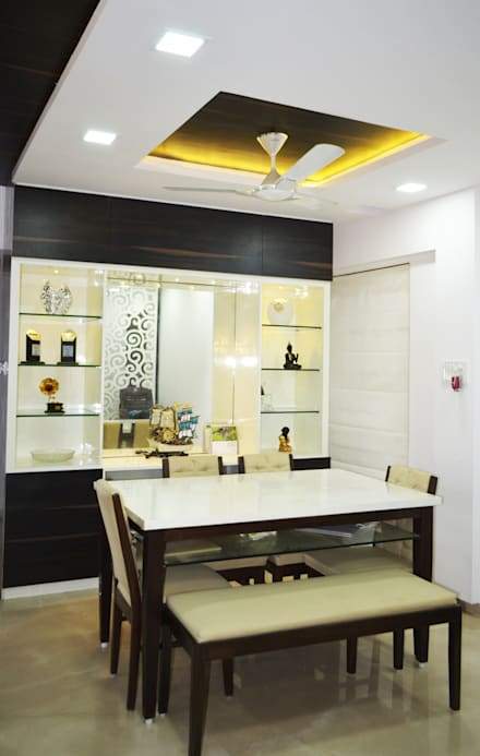 Modern Dining Room By Koncept Architects Interior Designers