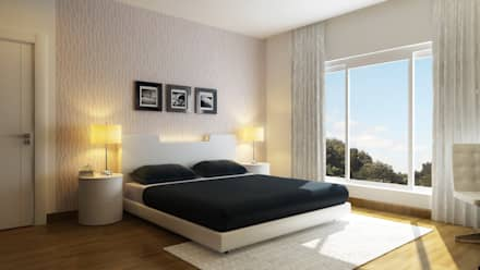 : modern Bedroom by Koncept Architects & Interior Designers,