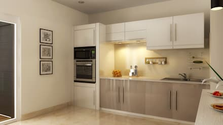 : modern Kitchen by Koncept Architects & Interior Designers,