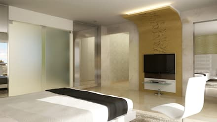 : modern Bedroom by Koncept Architects & Interior Designers