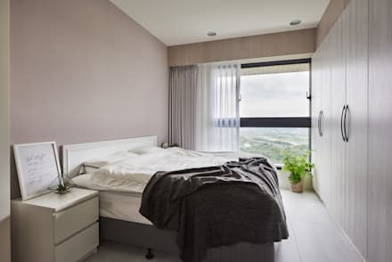 K-HOUSE:  臥室 by 思維空間設計