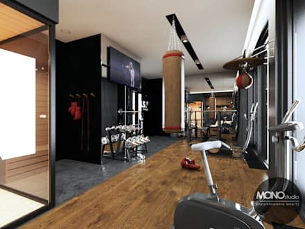modern Gym by MONOstudio