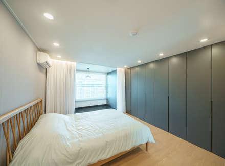 서강쌍용예가: Augmented Reality Architects의  침실
